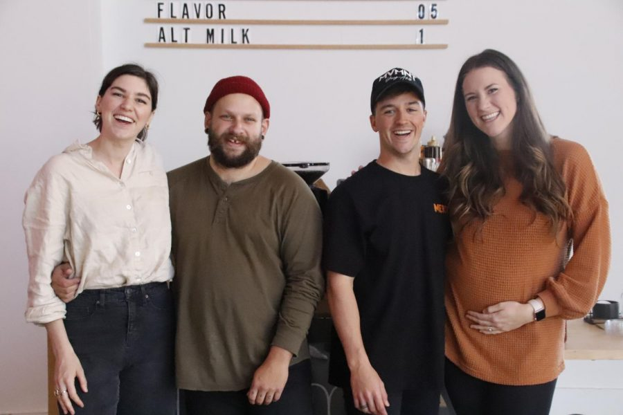 The creators of Luma Coffee Roasters, couples Devin and Catherine Masters and Logan and Shelby Torrance, came together about five years ago to learn more about coffee and form their own coffee roasting company.