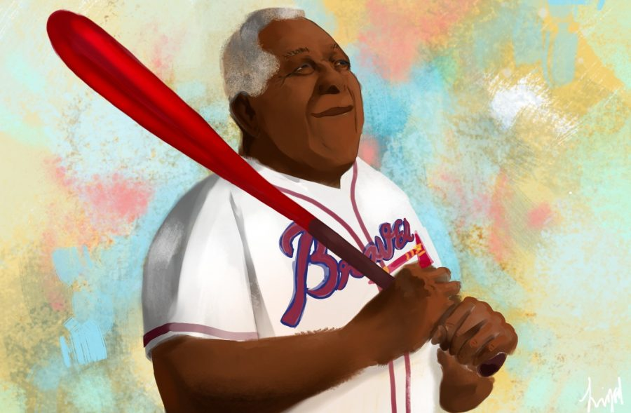 "Long live the hard hitting legend Henry ""Hank"" Aaron"