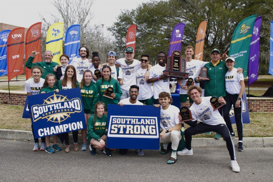 Over the weekend, Southeastern's Men's Cross Country team finished first place in the Southland Conference Tournament for the first time in program history. Shea Foster, senior distance runner, broke another school record in back-to-back meets.
