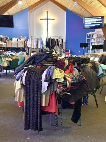 One of the donation dropoff locations for Lion Pride Career Closet business attire items is the Southeastern Wesley Foundation at 307 W. Dakota St., Hammond, La. Those wishing to donate are asked to bring in new or gently used tax-deductible items or a monetary contribution to purchase items.