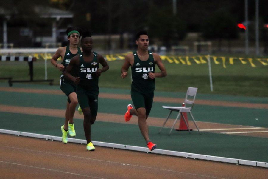Over the weekend James Benson II and Jonathon Sawyer both broke university records in the 400 meter race. The Lions' track and field sqaud will be back in action on April 1 in Gainesville, Fla.