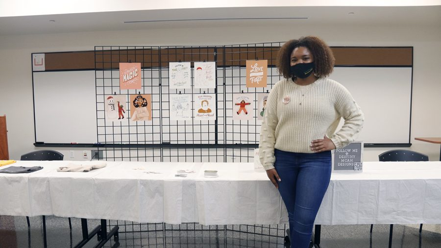 In addition to MISA using its regular staff to coordinate and work the exhibit, they also extended a welcome for volunteers to Student Government Affairs and the National Association for the Advancement of Colored People chapter on campus.