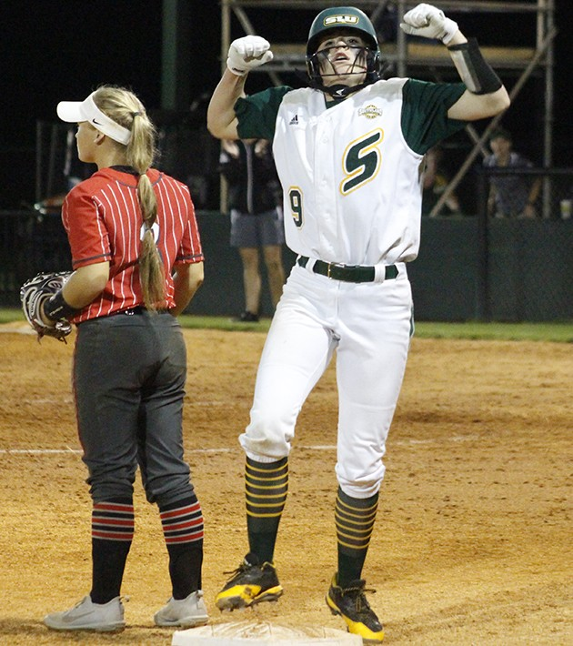 Lady Lions sweep series against Cardinals