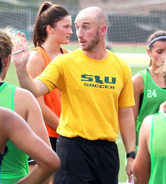 An athlete, a coach, a winner