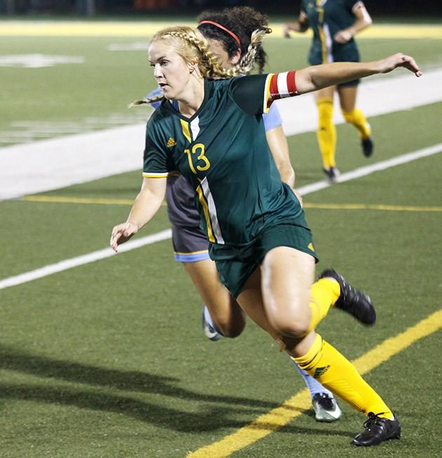 Soccer breaks losing streak against Southern