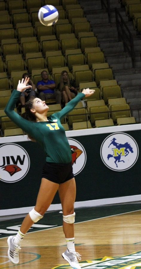 Losing streak continues for volleyball