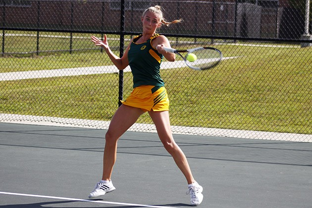 Tennis opens season with loss against the Ragin Cajuns