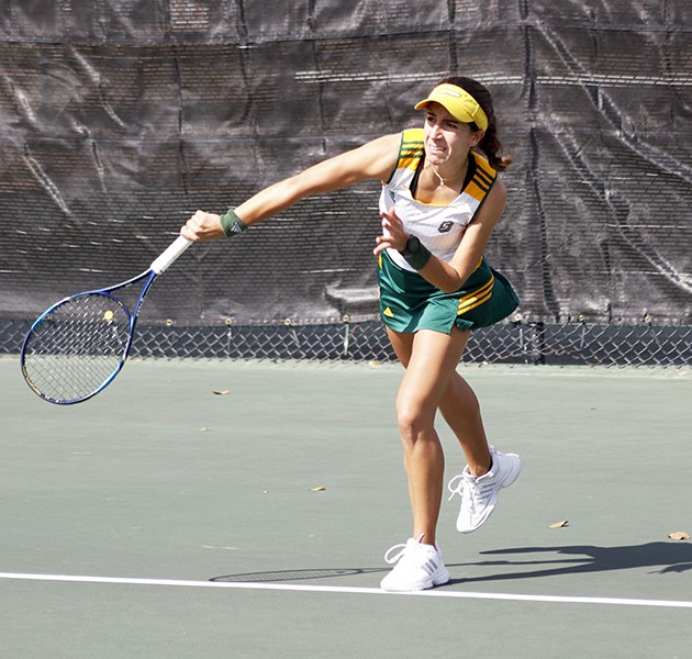 Tennis looks to learn from LSU loss