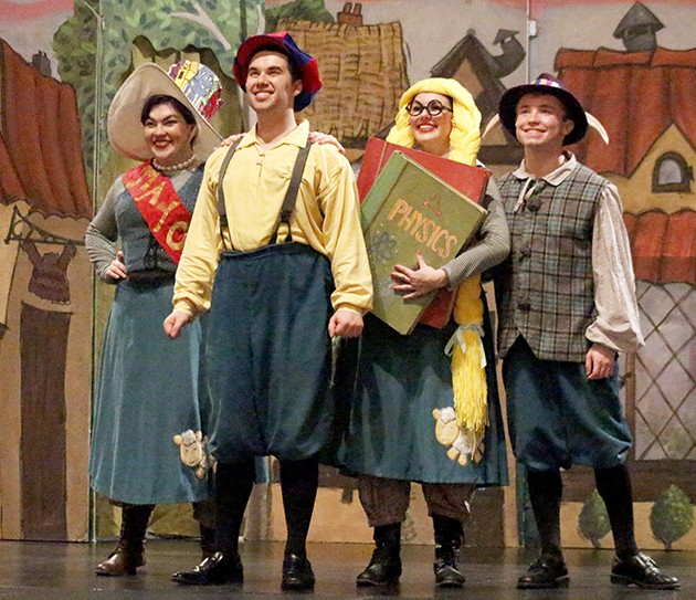 Four-man show presents a spin on classic children's tale