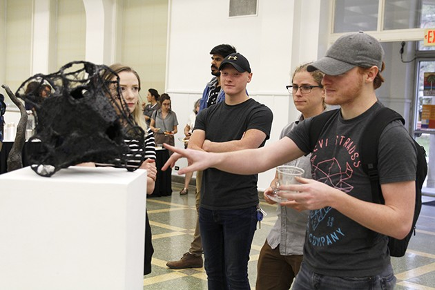 Art students gain knowledge and experience in CAG