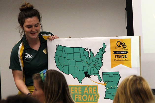 Students offered chance to express their interests through event planning on campus