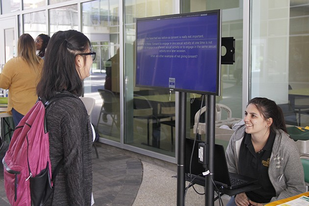 CARE team makes students aware about sexual assault