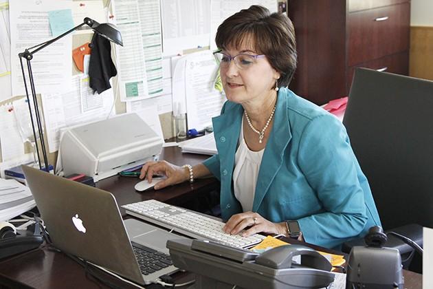 Carruth influencing the nursing program