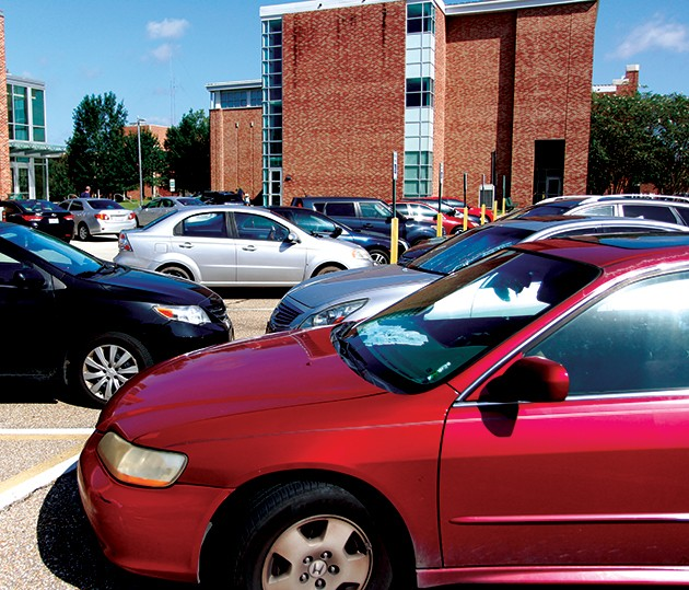 Fall updates to campus parking