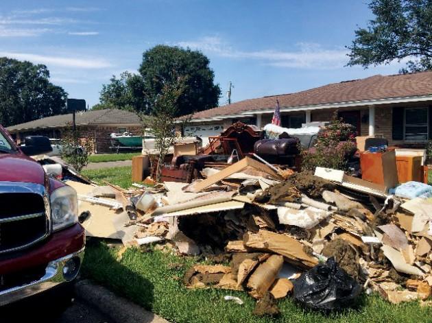 Kerstens'   knowledge of house repair aids in Harvey relief efforts