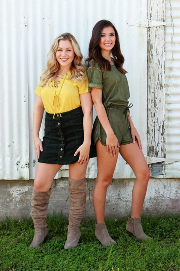 Alumna owned shop offers green and gold attire for women