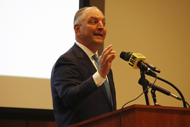 Edwards speaks at inaugural conference