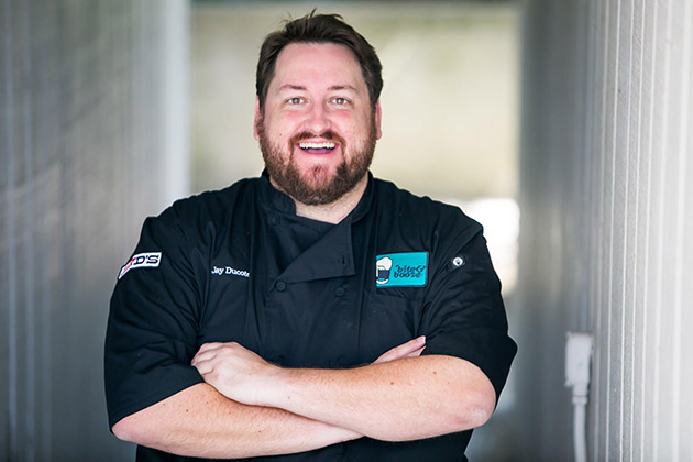 """The Hammond Regional Arts Center featured the culinary arts of Chef Jay Ducote of Gov't Taco on July 9. Ducote made his place in the culinary media world with his blog """"Bite and Booze"""" and by appearing on culinary shows such as """"Food Network Star"""" and """"MasterChef."""""""