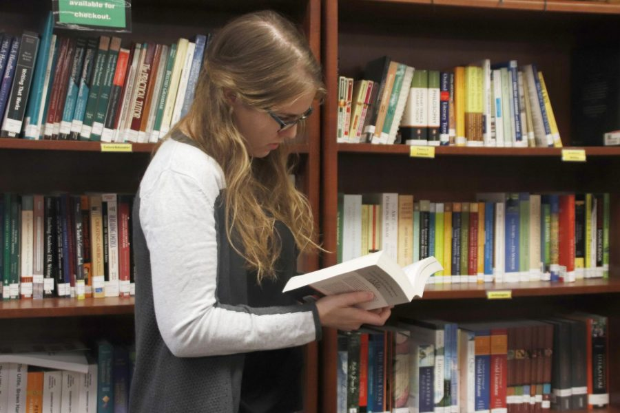The Department of English offers resources like the Writing Center to help students with their writing including assignments outside of an English class.