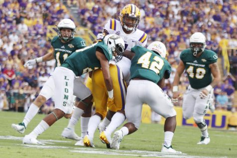 The Lions have an 0-2 record following their loss to LSU. However, the defense only allowed one touchdown in the second half of the game.