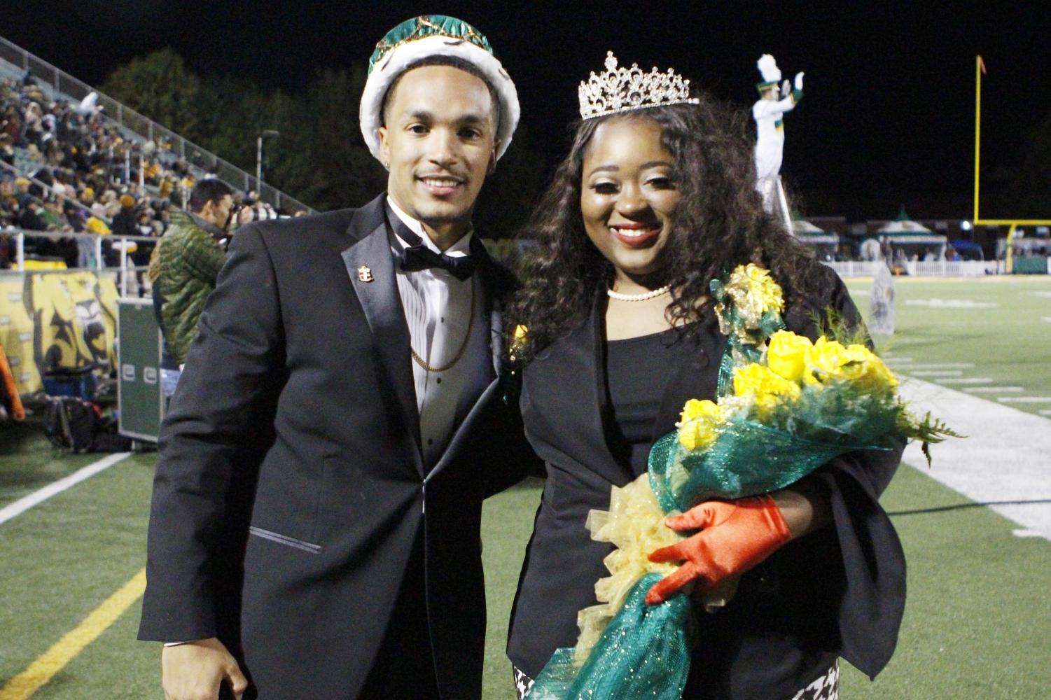 The new Homecoming Court will be announced right after the election that ends on Thursday, Sept. 13 at 4:30 p.m. The elected king and queen will replace the previously elected Bryce Carpenter and Mattie Hawkins. Of the elected court, the Homecoming king and queen will be announced during halftime of the Homecoming game.