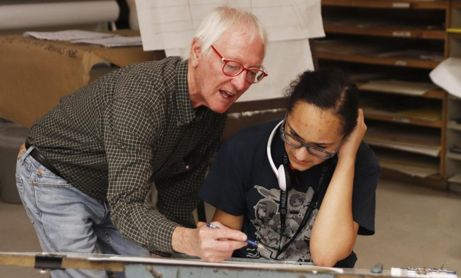 Randy Asprodites has been teaching art at the university for three years now. Asprodites pursued his career in art, and he obtained his master's degree in fine art after getting a bachelor's degree in psychology.