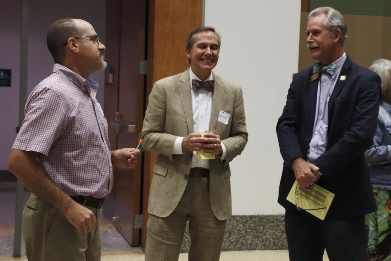 Students had the opportunity to meet with candidates from local, state and federal elections at