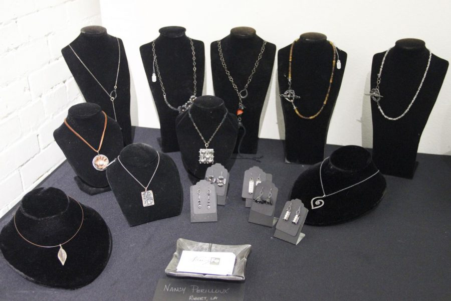 """Nancy Perilloux displayed her jewelry at the Hammond Regional Arts Center's """"Fine and Functional Show"""" last year."""