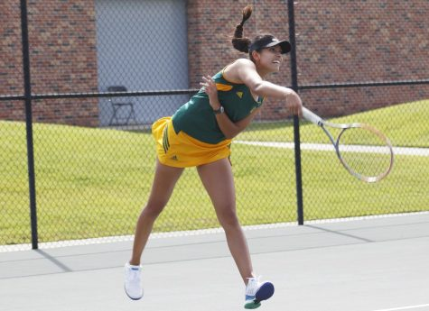 The Lady Lions tennis team finished 5th in the George E. Fourmaux Fed Cup Invitational.