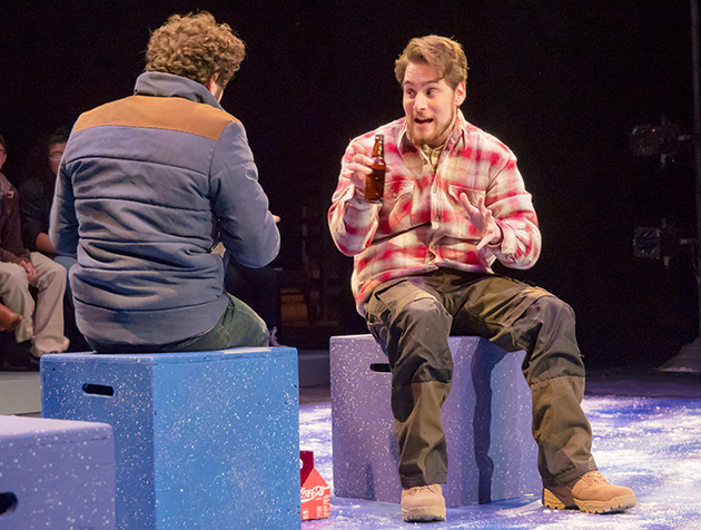 """The """"Almost, Maine"""" production included numerous technical aspects to put on the show."""