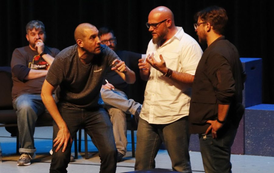 Alumni returned to the university to present the 5th annual Cubas/Kay/Jacob Memorial Comedy Show in the Vonnie Borden Theatre.