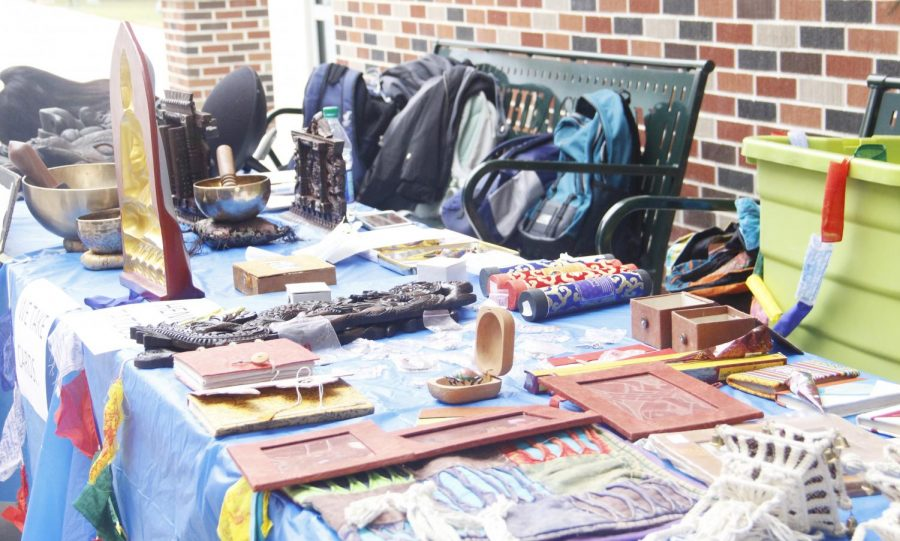 The Nepalese Student Association at Southeastern shared its culture with the university through an artifact sale. The displayed artifacts were handmade in Nepal and imported.