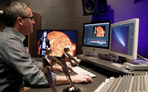 "Jamie Bass, telecourse producer, was recently awarded for his ""Earth and Space Science 102"" telecourse. In My 2018, the 39th annual Telly Awards awarded him two bronze Telly's for ""Editing"" and ""Use of Graphics."""