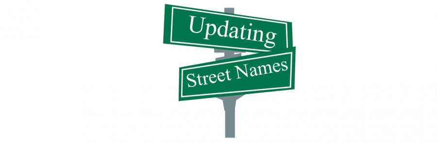 Signage+has+been+implemented+for+the+four+streets+renamed+on+campus.+The+four+new+street+names+are+Union+Avenue%2C+Mane+Street%2C+Roomie+Road+and+Lion+Lane.+