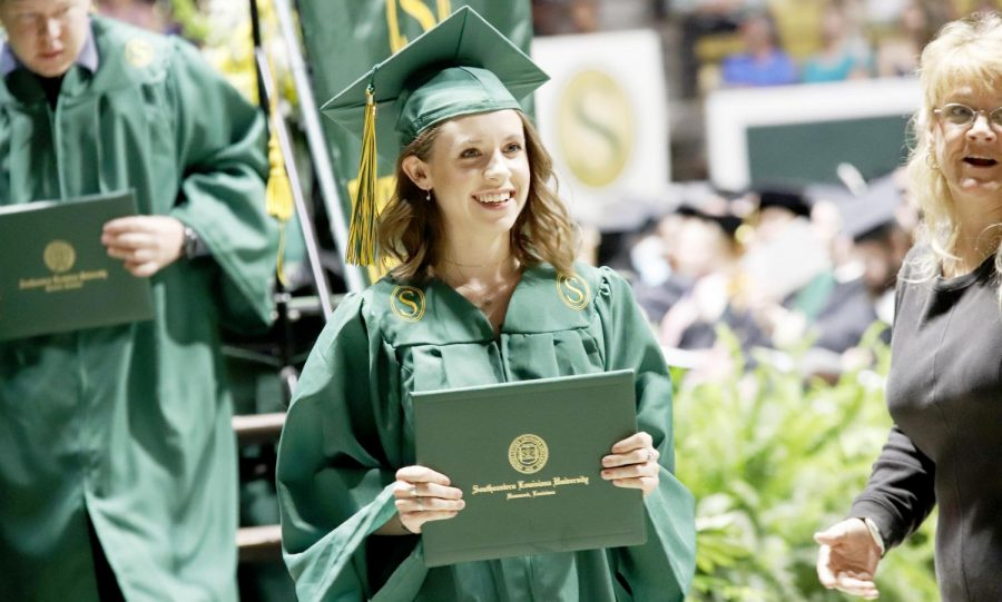 More+than+1%2C000+students+received+their+diploma+from+the+universtiy+during+the+2018+spring+commencement+ceremony.+After+graduation%2C+some+prefer+getting+a+graduate+degree+while+others+directly+enter+the+workforce.+