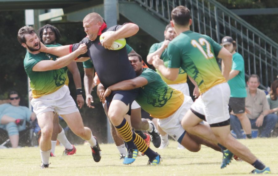 Since the Southeastern Rugby Club's reestablishment last year, the club has been recruiting players of all backgrounds.  Many of the athletes, however, join with no prior experience.