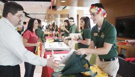 At orientation, incoming students and their parents can check in with their orientation leader and color group before getting started on the rest of the day's activities. Although every university will hold an orientation, their processes may differ.
