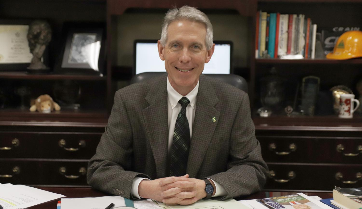 About 10 years ago, on Feb. 17, 2009, Dr. John Crain became the president of the university. From faculty member for the College of Business to interim provost, Crain has served the university for 32 years.