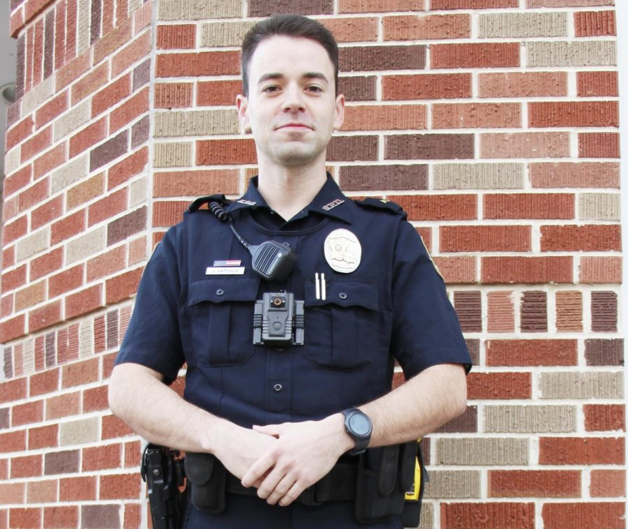 The+University+Police+Department+named+Jourdan+Hatcher+the+2018+Officer+of+the+Year.+Recently%2C+Hatcher+completed+Field+Training+Officer+School%2C+certifying+him+to+train+other+officers+in+the+performance+of+their+duties.