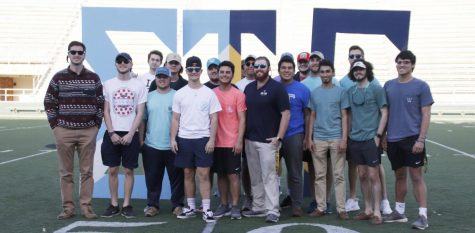 Within the Phi Chapter of Sigma Tau Gamma Fraternity, 55 percent of the active members received academic honors last semester. Among them, 10 made the President's List, eight made the Dean's List and an additional seven made the Honor Roll.