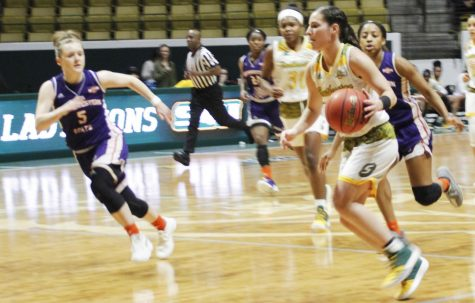 The Lady Lions lost the last home game of the season 56-60 against the Northwestern State University Demons. Despite the loss, the team looked to end the season on a high note.
