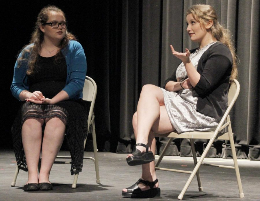 The Vonnie Borden Speech and Theatre Festival featured high school students showing off their speaking skills.