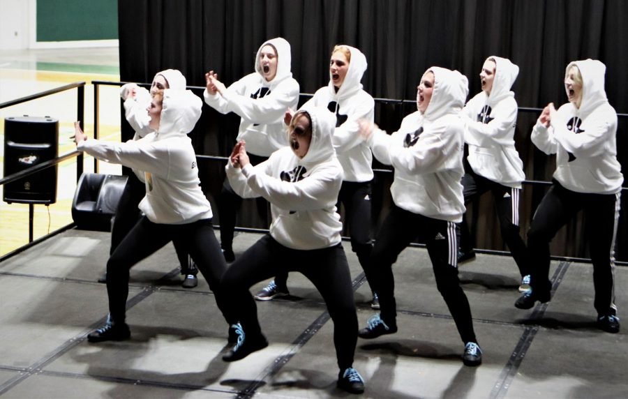 Team Danny Phantom performed in the Greek Week Step Show which took place on April 4 at 7 p.m. in the University Center.