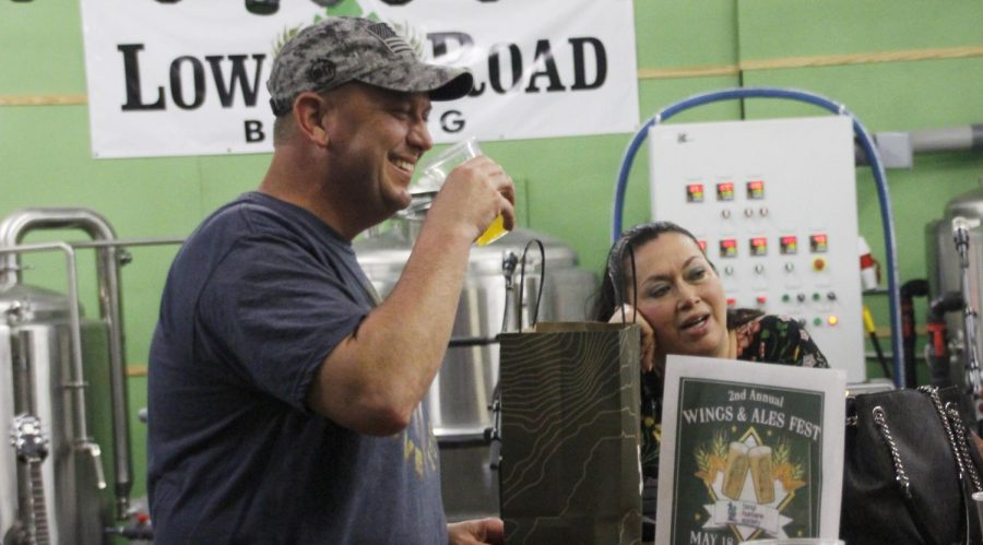 Low Road Brewing celebrated its two-year anniversary on March 30 with beer, crawfish and music. From community support and brewers' passion, craft beer has been trending upwards in the market recently.