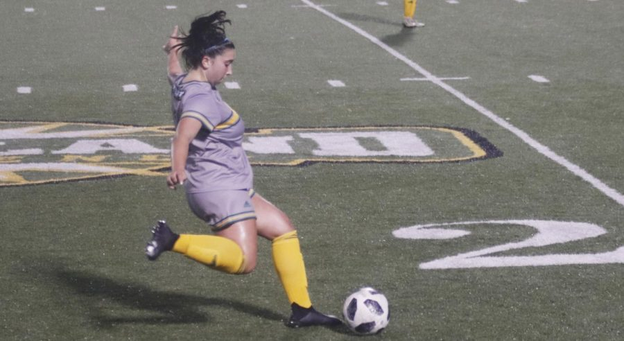 The Lady Lions soccer team secured a 2-1 victory over William Carey University in the last game of the spring season.
