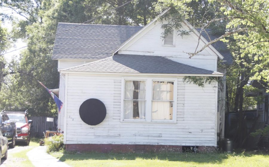 "The house nicknamed ""The Spot"" invites bands and other performers to play inside the house. Aaron Campbell explained that the idea for the spot came from viewing the eclipse."