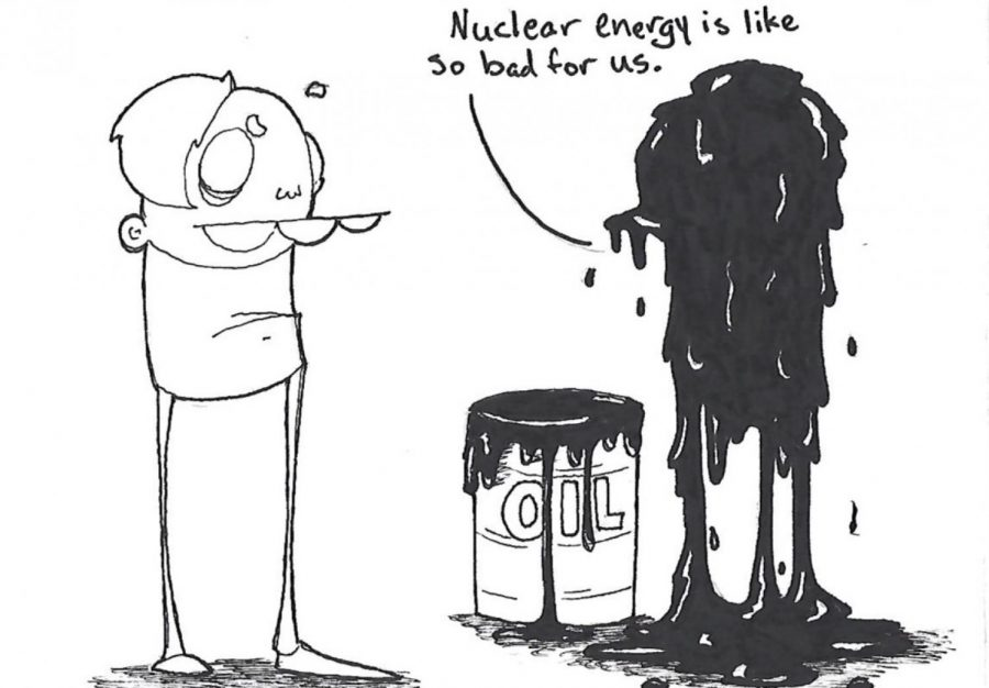 Stop fearing the nuclear alternative