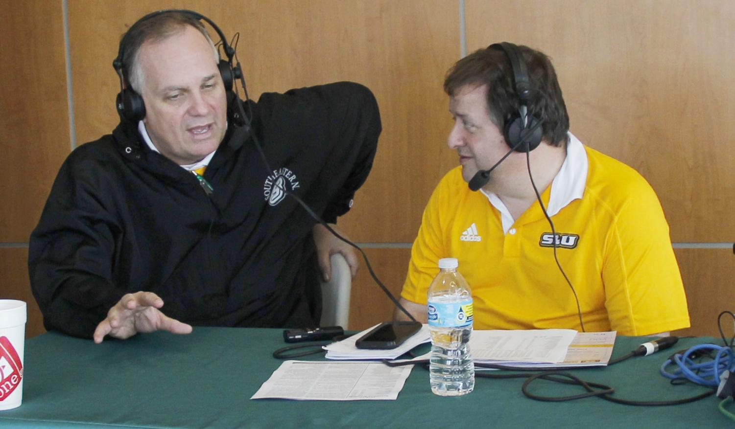 Jay Ladner, former head coach of men's basketball, returned to coach at his alma mater. Ladner won the 1987 NIT Tournament with the Golden Eagles.