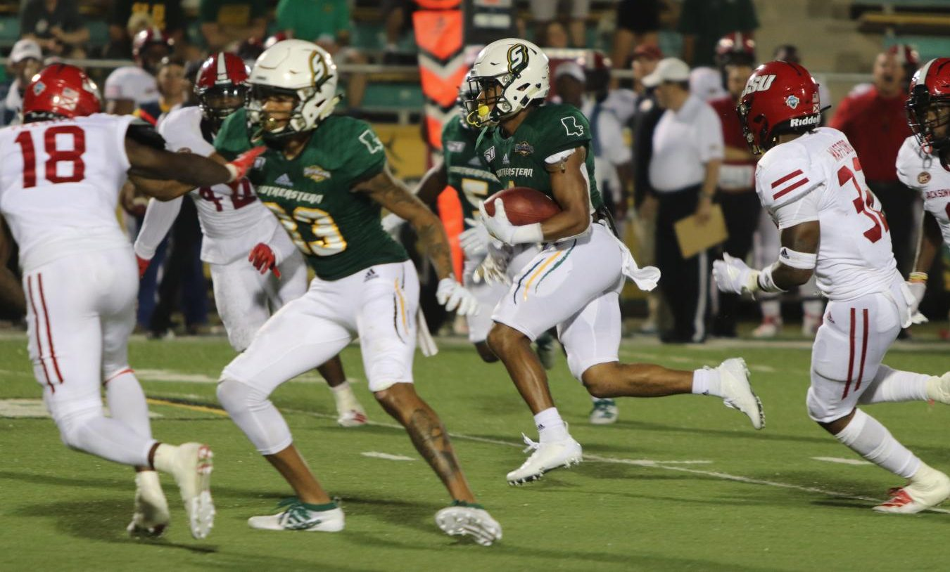 The Lions averaged 4.9 yards per rush and gained one rushing touchdown against Jacksonville State University. Devonte WIlliams, a senior running back, and Chason Virgil, a senior quarterback, tied in net rushing yards, gaining 37 each.