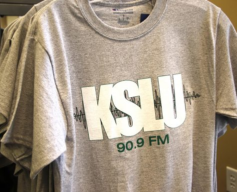 KSLU launches new merchandise on campus